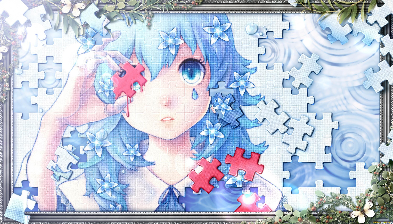 Картинки аниме пазлы